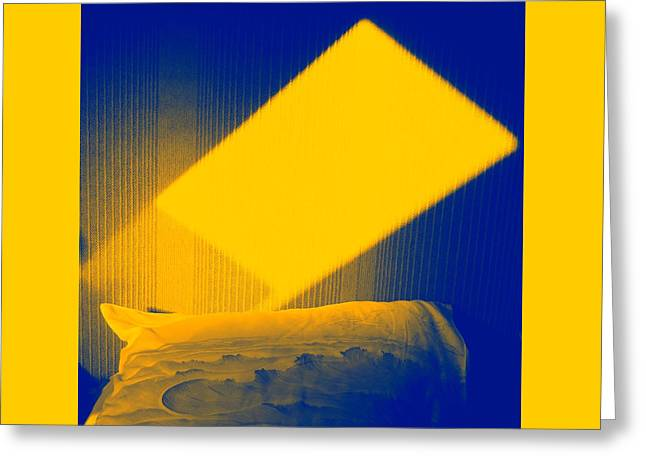 Pillow Lightscape Greeting Card by Terry w Scales