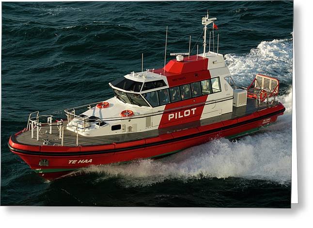 Pilot Boat Wellington Greeting Card