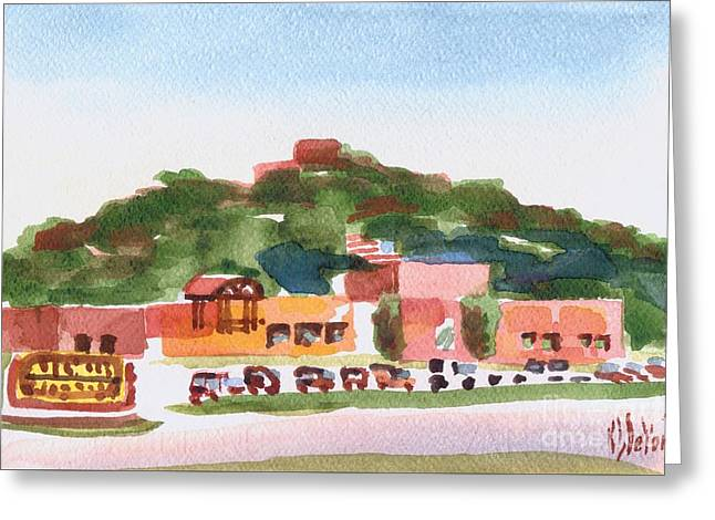Pilot Knob Mountain W402 Greeting Card by Kip DeVore