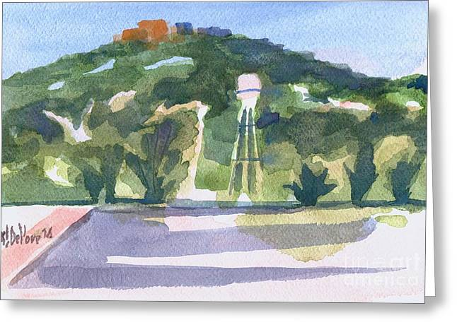 Pilot Knob Mountain W404 Greeting Card by Kip DeVore