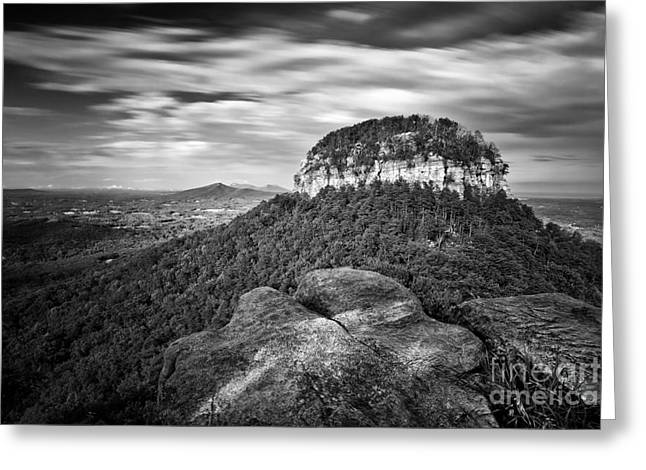 Pilot Mountain 1 Greeting Card