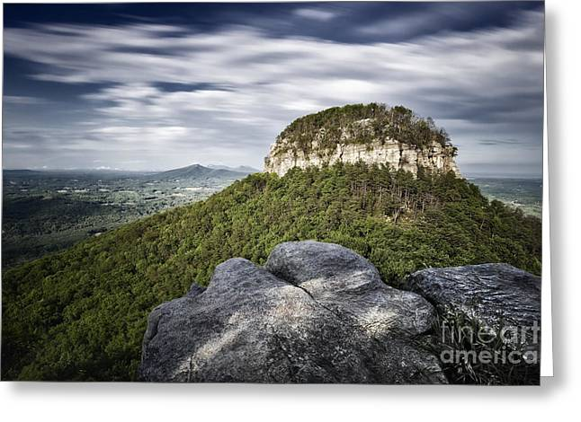 Pilot Mountain 1c Greeting Card