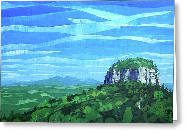 Pilot Mountain Greeting Card