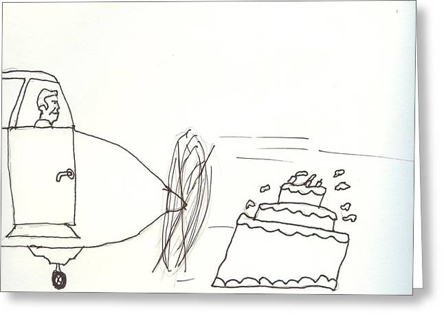 Pilots Lounge Birthday Image Greeting Card