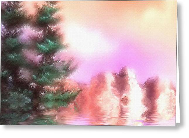 Pine Dreams Greeting Card by Thelma Hendrix