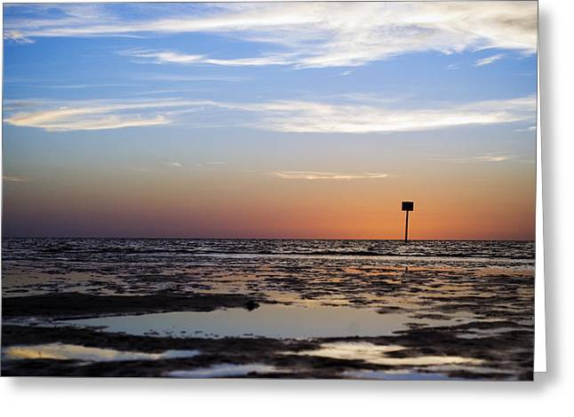 Pine Island Sunset Greeting Card