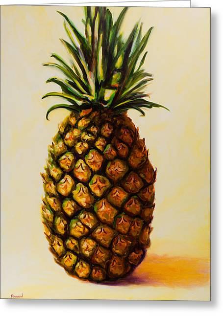 Pineapple Angel Greeting Card