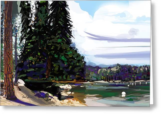 Pinecrest Lake Greeting Card