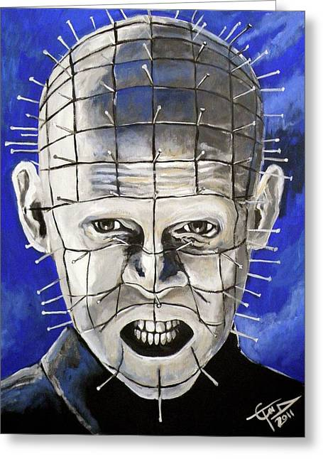 Pinhead - Hellraiser Greeting Card