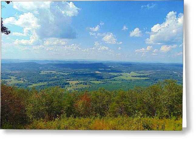 Pinhoti Trail Views Greeting Card