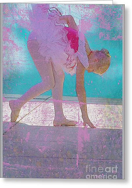Greeting Card featuring the photograph Pink Ballerina by Craig J Satterlee