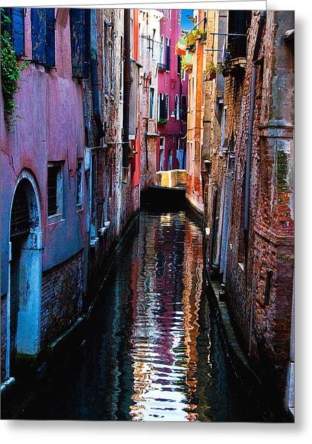 Pink Canal Greeting Card