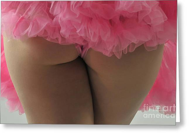 Pink Fanny Greeting Card