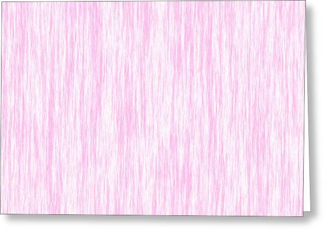 Pink Fiber Greeting Card
