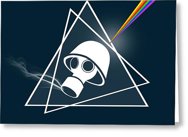 Pink Floyd Greeting Cards Fine Art America