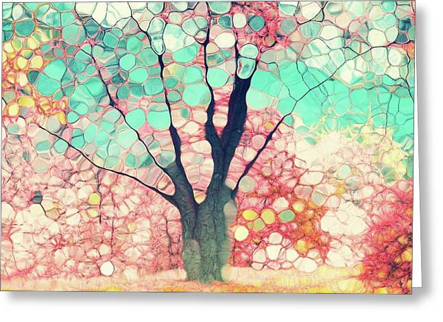Pink Glory Greeting Card by Tara Turner
