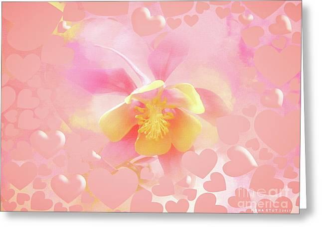 Enjoy Pink Moments Greeting Card