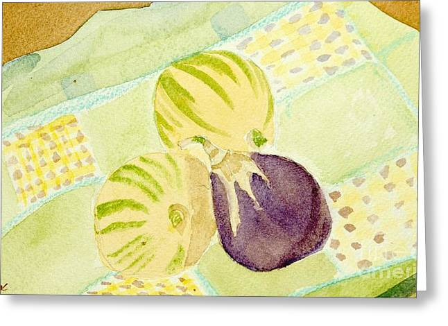 Pink Passion Lemonade Greeting Card by Charlotte Hickcox