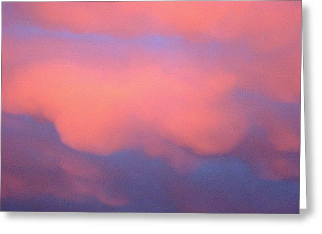 Pink Sky Greeting Card by Marcia Crispino