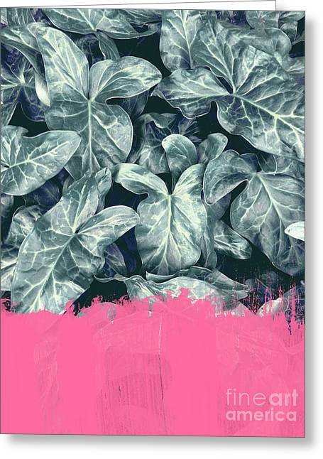 Pink Sorbet On Jungle Greeting Card