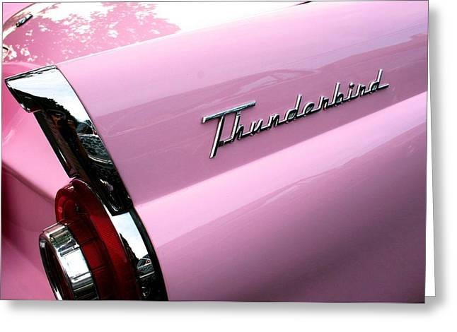 Pink Thunderbird Greeting Card