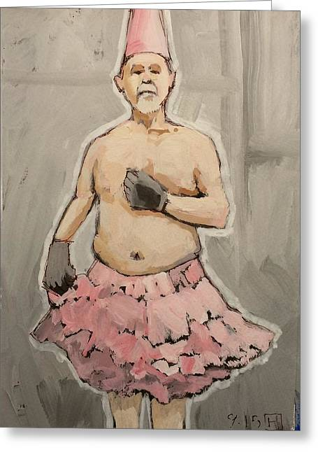 Pink Tutu Greeting Card