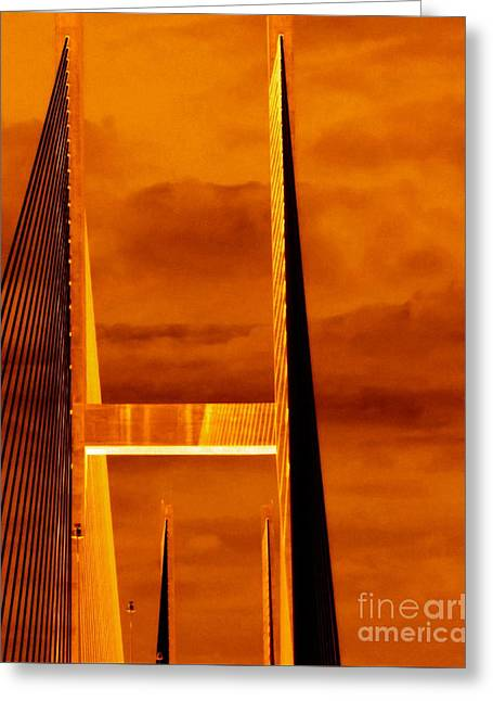 Greeting Card featuring the photograph Pinnacle by Cathy Dee Janes