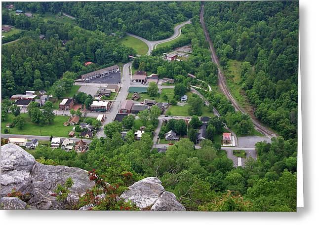 Pinnacle Overlook In Kentucky Greeting Card