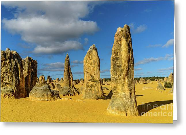 Pinnacles 6 Greeting Card
