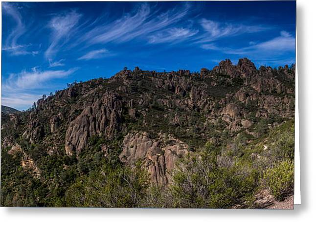 Pinnacles View Greeting Card