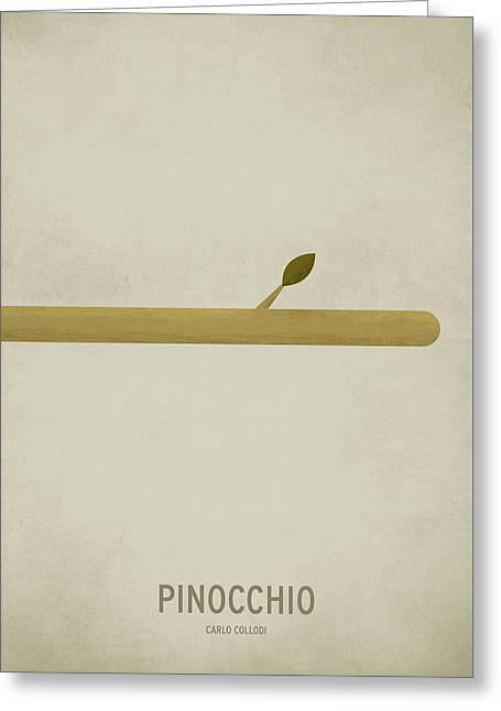 Pinocchio Greeting Card