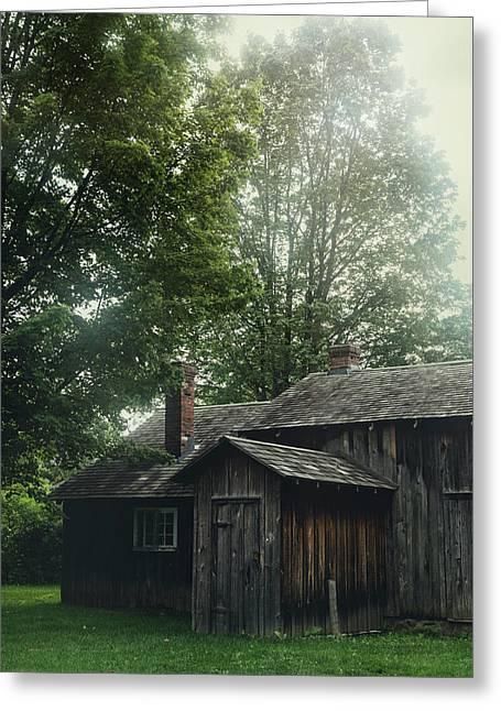 Pioneer Cottage Greeting Card