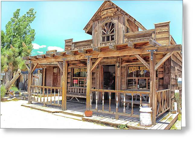 Pioneertown, Usa Greeting Card