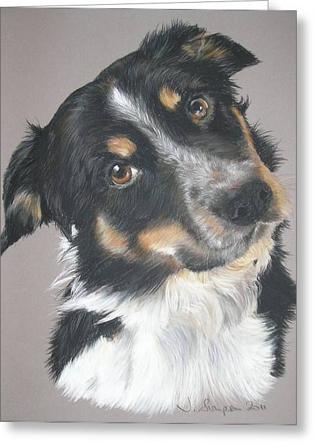 Pip Greeting Card by Joanne Simpson