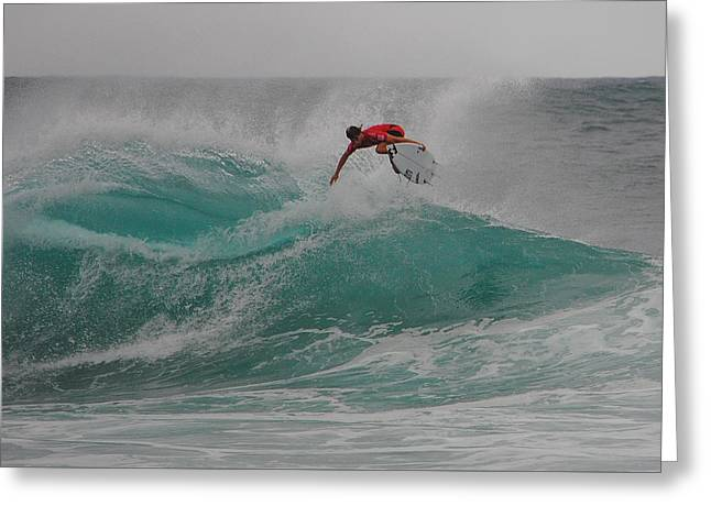 Pipe Swell Greeting Card by Megan Martens