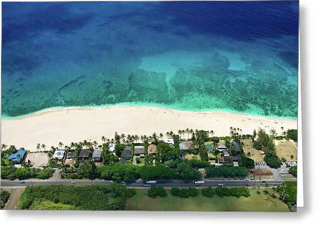 Pipeline Reef Overview Greeting Card