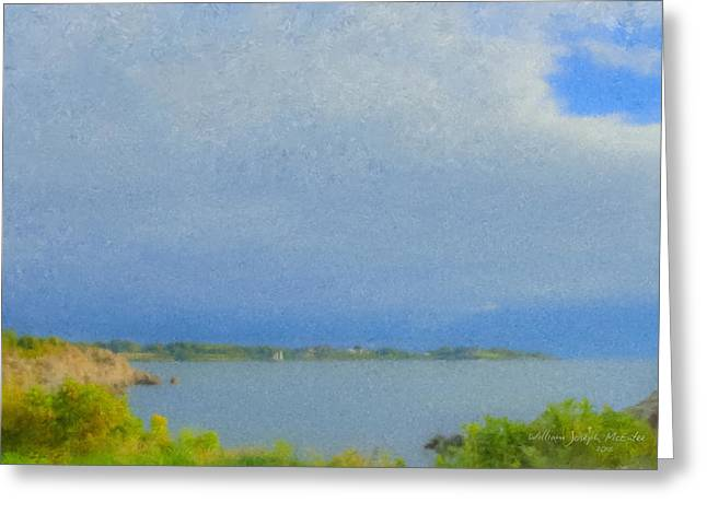 Pirate Cove Jamestown Ri Greeting Card