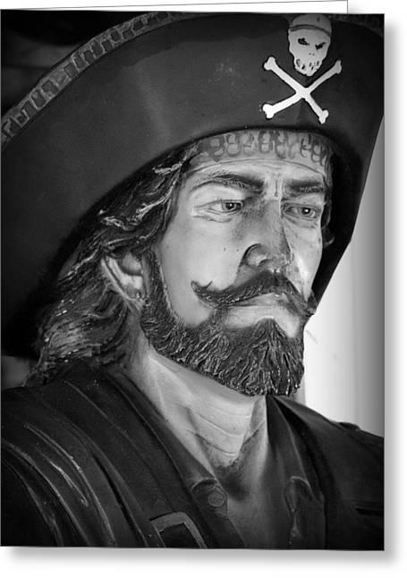 Pirate Greeting Card by Lori Seaman