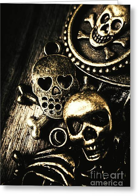 Pirate Treasure Greeting Card by Jorgo Photography - Wall Art Gallery