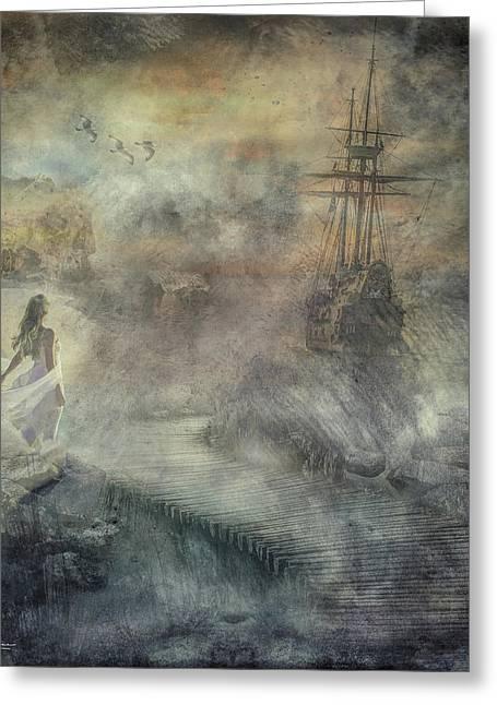 Pirates Cove Greeting Card