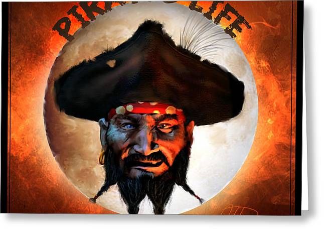 Pirates Life Greeting Card