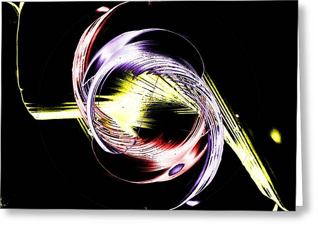 Circular Motion Greeting Cards - Pirouette Greeting Card by Tim Allen