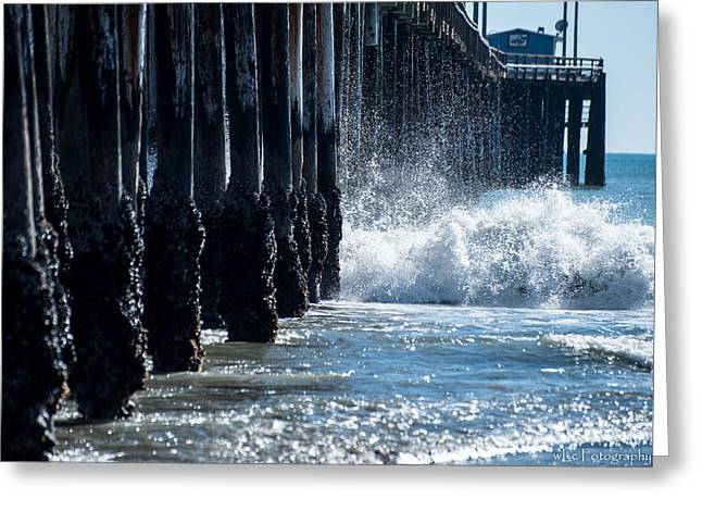 Pismo Pier Greeting Card