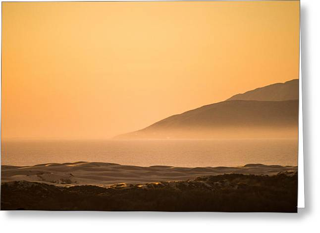 Pismo Sunrise Greeting Card