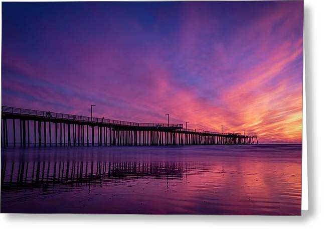 Greeting Card featuring the photograph Pismo's Palette by Sean Foster