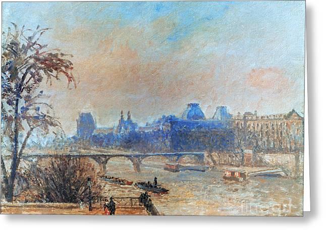 Pissarro: Seine, 1903 Greeting Card by Granger
