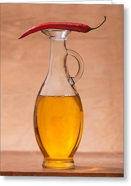 Pitcher And Pepper #1475 Greeting Card