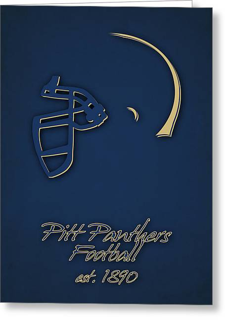 Pitt Panthers Greeting Card by Joe Hamilton