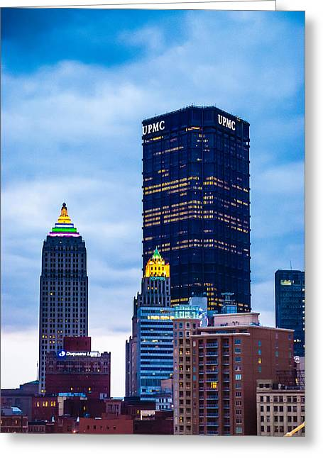 Pittsburgh - 7012 Greeting Card
