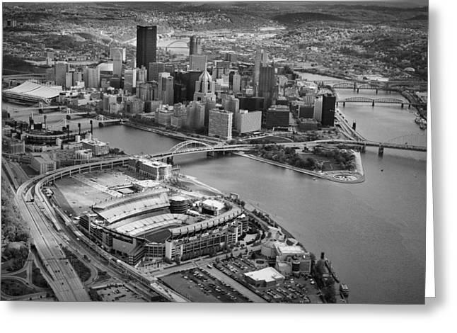 Pittsburgh 9 Greeting Card